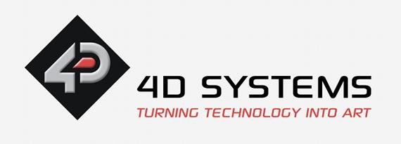 Nouveau module d'affichage tactile 7 pouces de 4D Systems